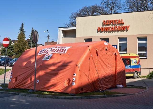 Szpital w Przysusze zajmuje się teraz leczeniem tylko zakażonych koronawirusem.