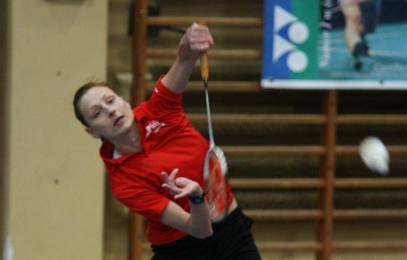 Augustyn jest niekwestionowaną liderką wśród pań w krajowym badmintonie.
