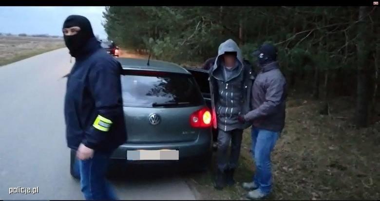 Cezary R. został zatrzymany 8 marca w gminie Troszyn w powiecie ostrołęckim