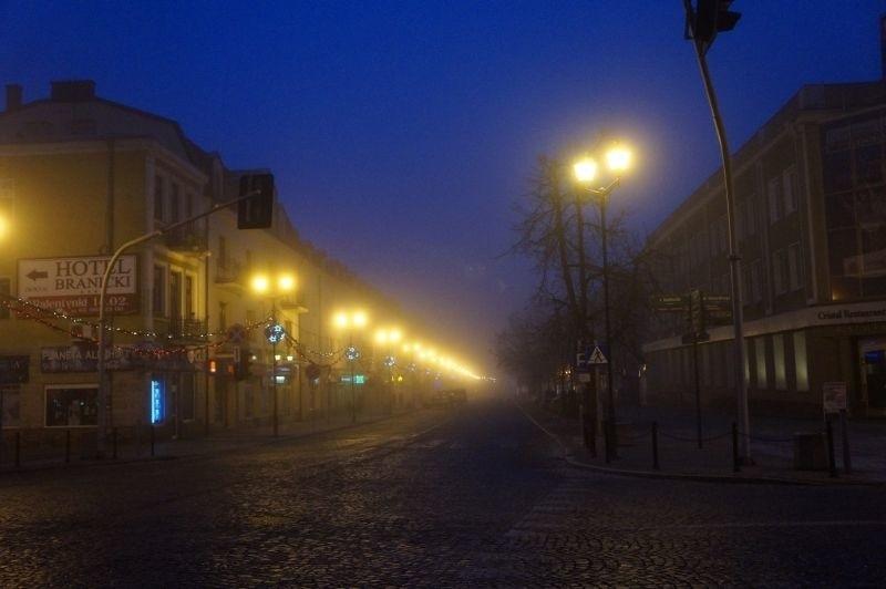 Prognoza pogody. Mgła spowijała Podlaskie (zdjęcia, wideo)