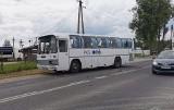 Kuriany. Wypadek autobusu PKS Nova. Żołnierz pomagał poszkodowanym (zdjęcia)