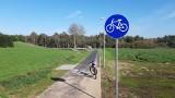 Przez Bruskowo Wielkie rowerem jeździmy już obwodnicą [zdjęcia]