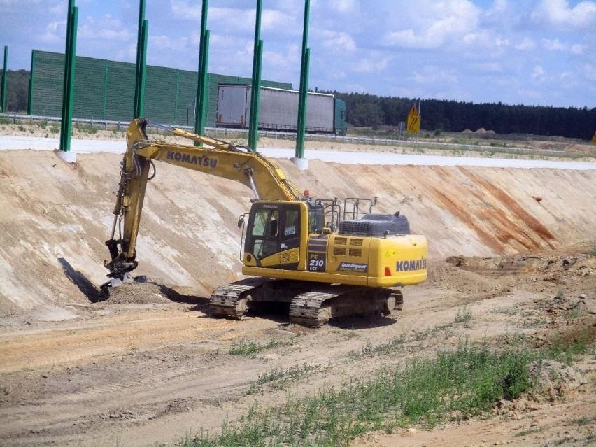 Na odcinku E rozpoczęło się już betonowanie drugiej jezdni...