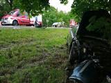 Niepołomice. Zderzenie dwóch samochodów na DK 75