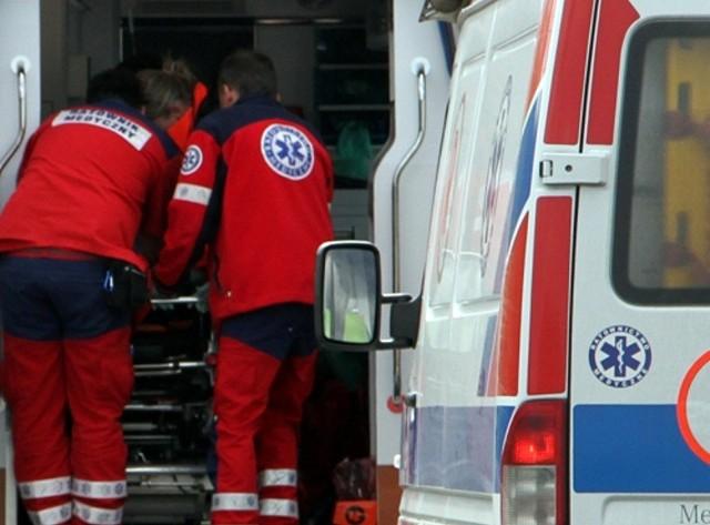 Dzieci zostały przewiezione do szpitala w Zielonej Górze