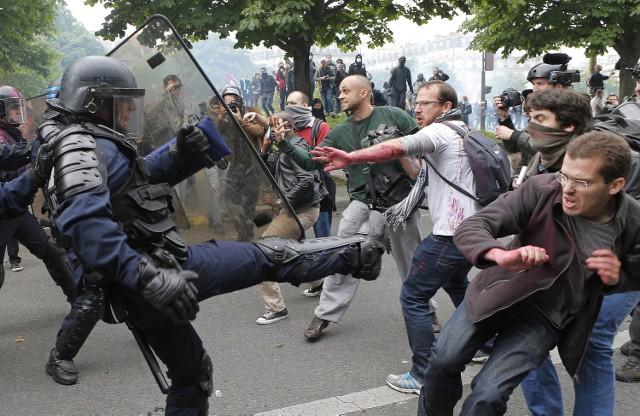 Zamieszki w Paryżu