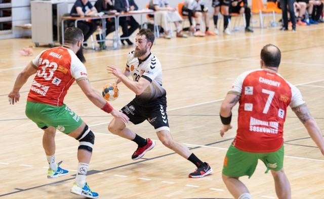Daniel Goliszewski (z piłką) wkrótce pożegna się z AZS UJK Kielce.