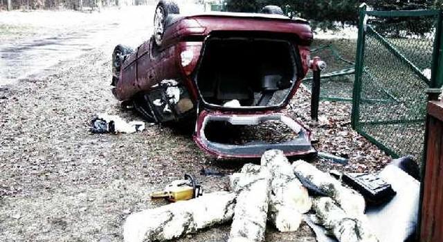 Mężczyzna wsiadła za kierownicę po wypiciu alkoholu