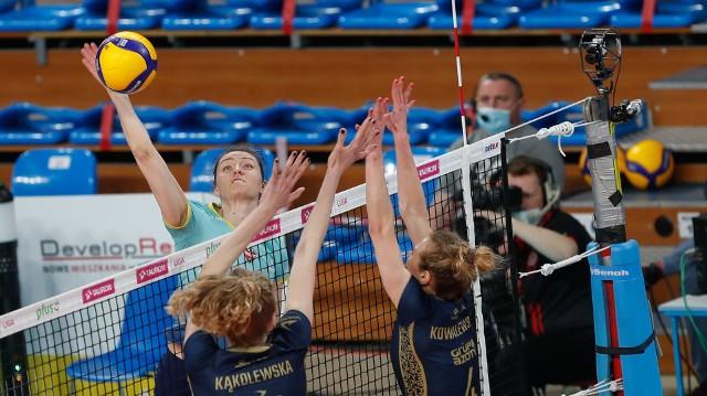 Jelena Blagojević, to kluczowa siatkarka Developresu Rzeszów, kapitan drużyny