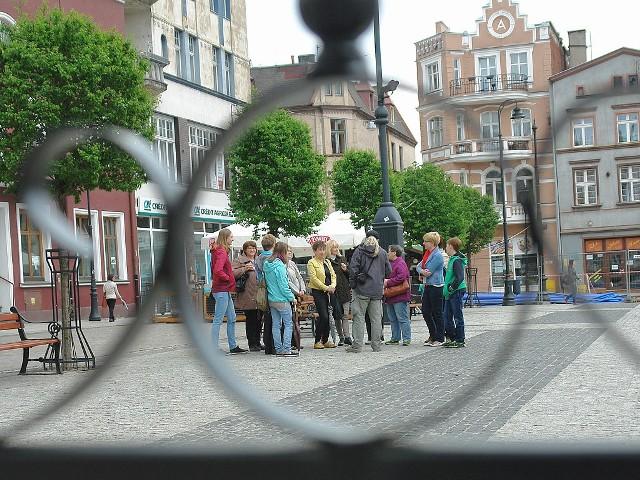 Spotkanie pań z Klubu Kobiet rozpoczęło się na Rynku Głównym