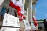 """""""Cud nad Wisłą"""" uczczony przez radnych pod sowieckim pomnikiem. Tak wyglądały obchody w Szczecinie"""