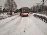 Fatalne warunki na drogach. Pod Wrocławiem nie jeździ wiele autobusów