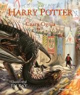"""Do księgarń trafiła właśnie wyczekiwana, ilustrowana wersja książki """"Harry Potter i Czara Ognia"""". Z tego wydania sączy się prawdziwa magia!"""