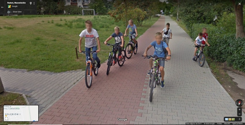 Zobacz zdjęcia radomian na Google Street View! W programie...