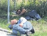 Problem z bezdomnymi i żebrakami w Świnoujściu