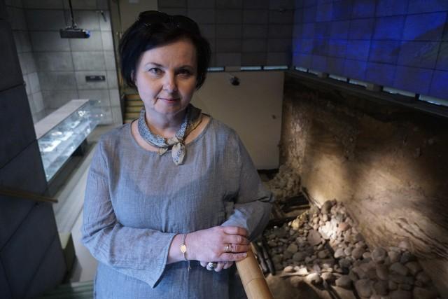 Dr Agnieszka Stempin specjalizuje się m. in. w okresie wczesnego średniowiecza.