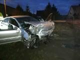Śmiertelny wypadek pod Łagiewnikami. Auto uderzyło w budynek