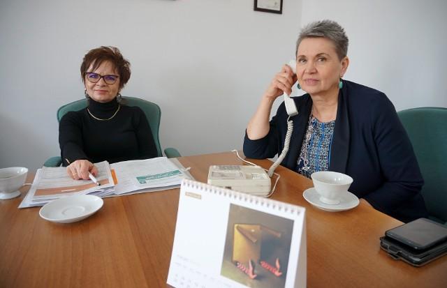 W dyżurze telefonicznym przed redakcyjnym telefonem wzięła udział Marta Szpakowska z Izby Administracji Skarbowej w Lublinie i Elżbieta Michno z Pierwszego Urzędu Skarbowego w Lublinie