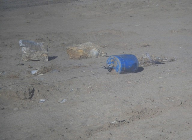 Tylko w ciągu miesiąca na drogach prowincji Ghazni rebelianci podłożyli blisko 70 improwizowanych ładunków wybuchowych (IED).