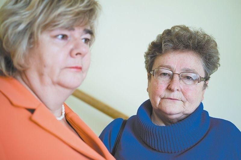 Gdybym czegoś w tej sprawie nie zrobiła, córka by mi tego nie wybaczyła - mówi Krystyna Biegańska (z prawej). Obok Wiesława Ćwiklińska.