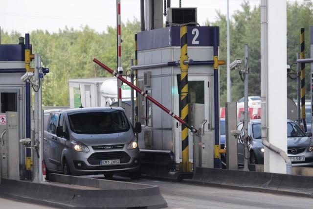 Bramki na A4 w Mysłowicach.Zobacz kolejne zdjęcia. Przesuwaj zdjęcia w prawo - naciśnij strzałkę lub przycisk NASTĘPNE