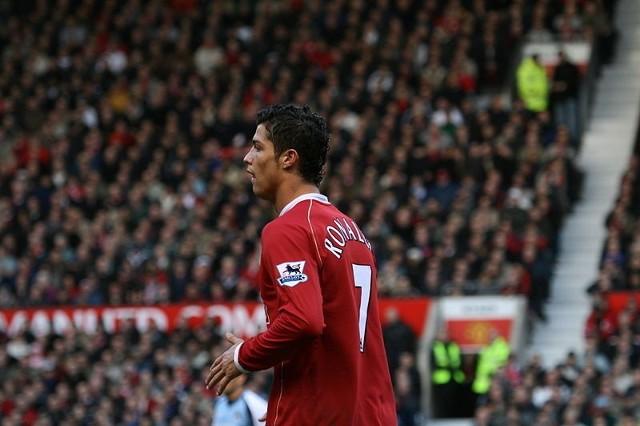 #10 Cristiano Ronaldo – Manchester United – 84 bramki (196 meczów)