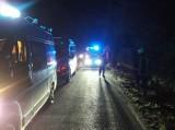 Trzebaw: Śmiertelny wypadek niedaleko Stęszewa - nie żyje motocyklista, który uderzył w drzewo [ZDJĘCIA]