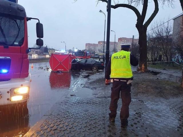 Tragiczny wypadek w Łodzi