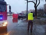 Koszmarny wypadek na ul. Broniewskiego. Nie żyją dwaj mężczyźni