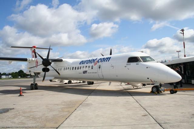 Goleniów: Eurolot zamiast LOT-uPołączenia będą obsługiwane m. in. przez nowoczesne, 78-miejscowe Bombardiery Q400 NextGen należące do Eurolotu. Samoloty są szybkie, ciche i wygodne, a przy tym ekonomiczne.