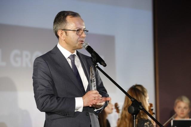 """Nagrodę """"Global Success Leader"""" odebrał Adam Krzanowski, Prezes Grupy Nowy Styl"""