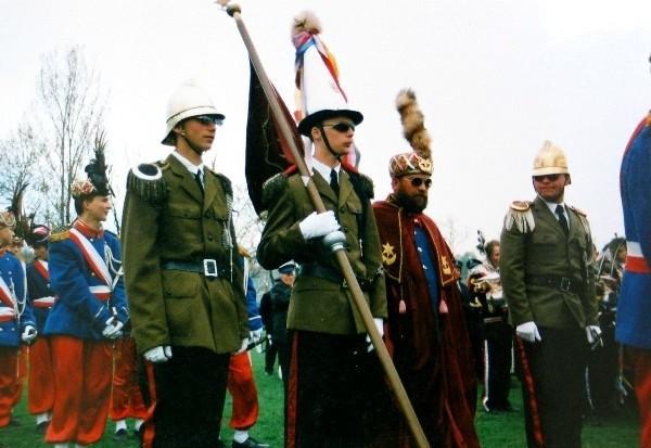 Pierwotnie parada straży grobowych była planowana na 11 kwietnia. Została odwołana ze względu na katastrofę pod Smoleńskiem.