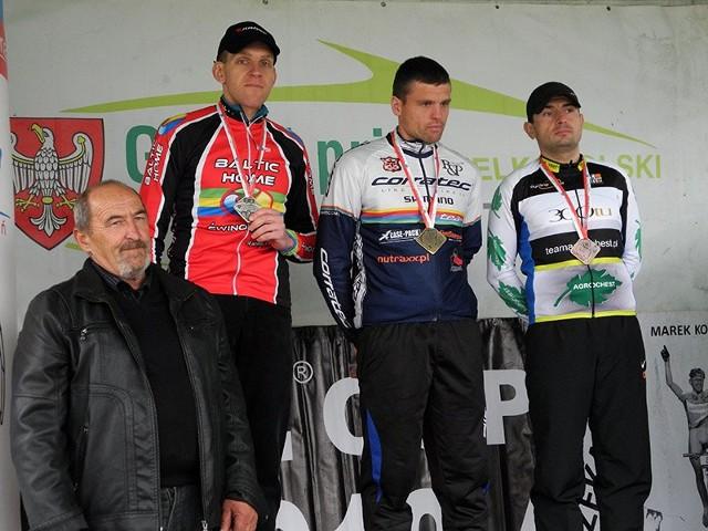 Marcin Hermanowski zajął trzecie miejsce w kategorii M-3 podczas zawodów w Łopuchowie