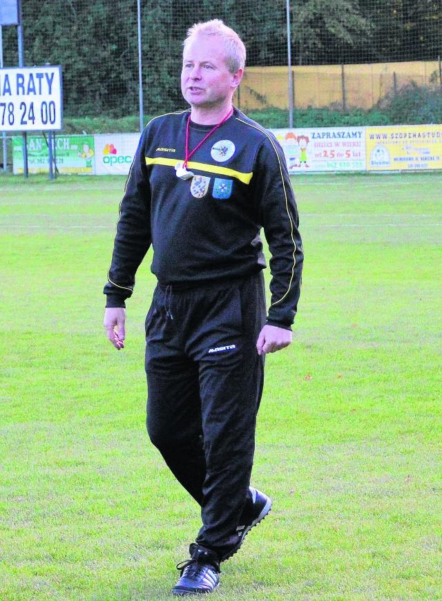 Piotr Rzepka zadebiutuje jako trener Gryfa