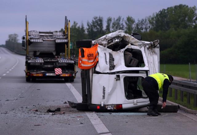 Groźny wypadek na S8 - zdjęcie ilustracyjne