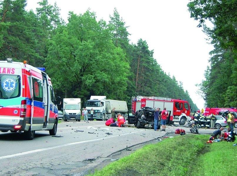 Wypadek pod Płocicznem