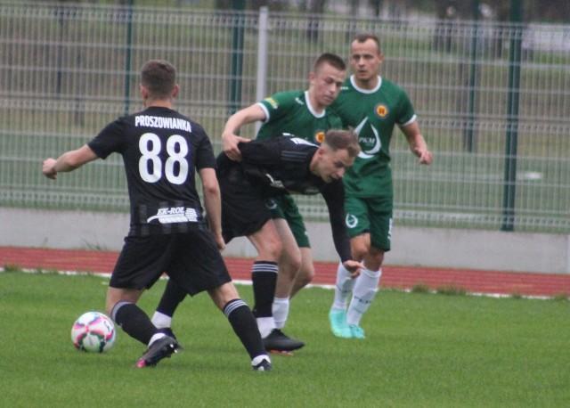 Kadr z meczu KS PKM Olkusz - Nowa Proszowianka