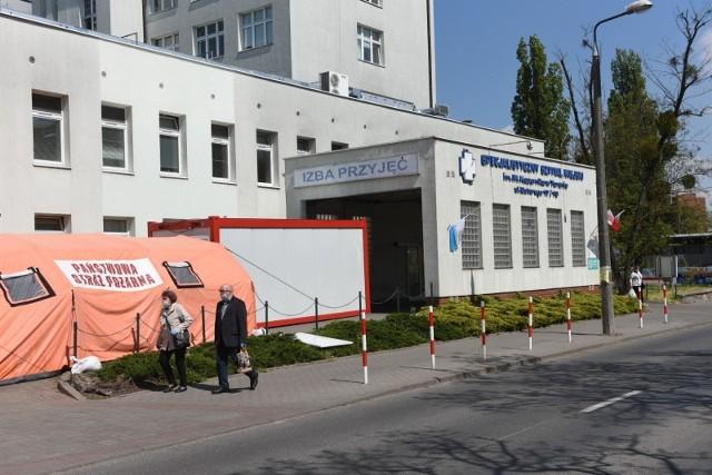 Specjalistyczny Szpital Miejski w Toruniu także ma oddział covidowy, Obecnie przebywa na nim 13 pacjentów z koronawirusem.