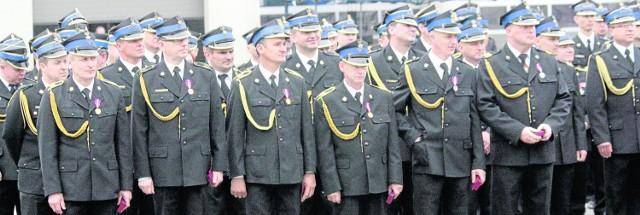 Najlepsi strażacy zostali odznaczeni. Wśród nich jest Jacek Apostolski