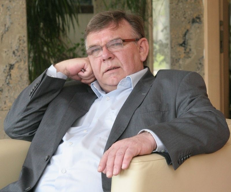 Jerzy Malek, ustecki biznesmen.