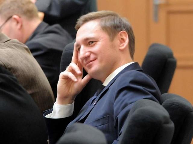 Marszałek Olgierd Geblewicz.