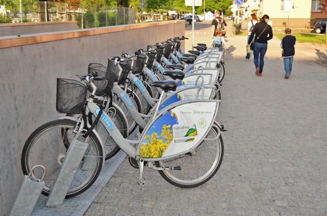 Poznański Rower Miejski: Nowa stacja przy wejściu do ICHOT