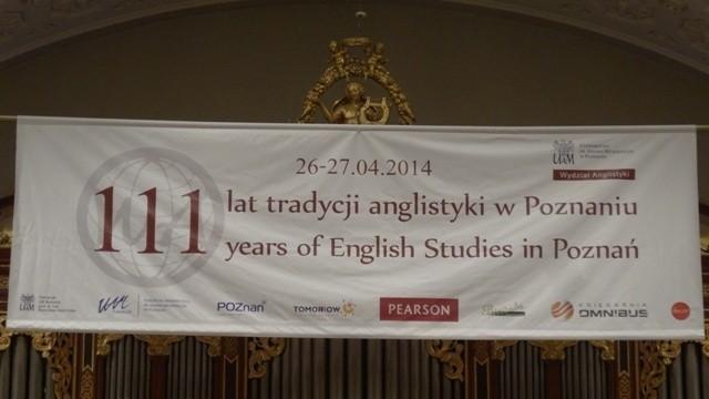 Obchody z okazji 111 lat tradycji Anglistyki w Poznaniu