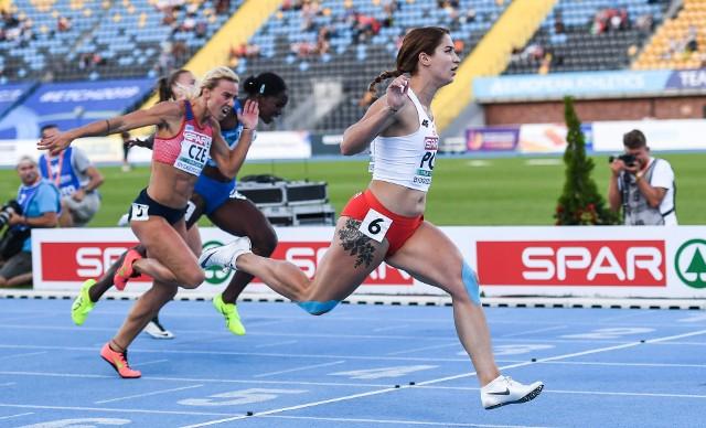 Ewa Swoboda pewnie awansowała do finału rywalizacji na 100 metrów i w sobotę wystąpi w finale Drużynowych Mistrzostw Europy