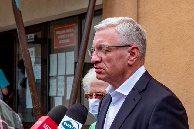 Telewizja Polska pozwała prezydenta Poznania Jacka Jaśkowiaka za wypowiedzi, które zdaniem przedstawicieli TVP naruszały dobre imię telewizji.
