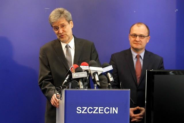 Nowy zastępca prezydenta Szczecina, Piotr Mync.