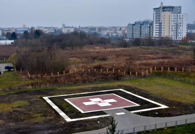 Tak wygląda po remoncie lądowisko dla śmigłowców przy szpitalu dziecięcym w Lublinie