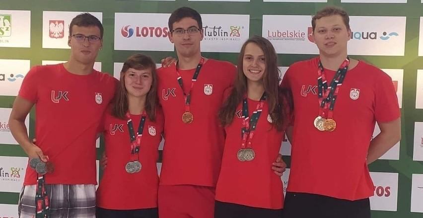 Studenci UJK Kielce świetnie spisali się na Akademickich Mistrzostwach Polski w pływaniu, które odbyły się w Lublinie.
