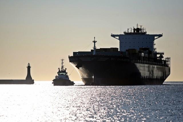 Największy kontenerowiec w historii portu w Gdyni