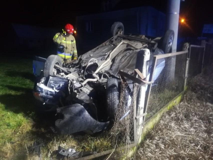1 stycznia około godziny 02.30 doszło do wypadku na ulicy Szczuki w Szczuczynie.
